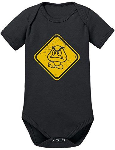TLM Beware Gomba Babybody 74 (Babys Kostüme Für Halloween Mario Super)