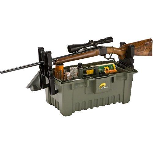 Plano Wartungskoffer für Gewehre, Aufbewahrungskoffer für Reinigungs- und Wartungsutensilien, GrößeXL, Olivgrau