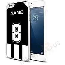 Notts County colores camiseta de fútbol personalizada, cualquier nombre, cualquier número Snap-on Hard Back Case para Apple iPhone 66S por iPhone R Us®