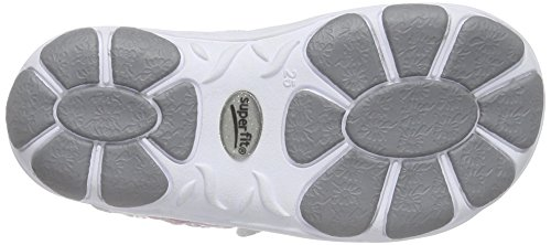 Superfit Nelly 1, Sandales fille Blanc (weiss Kombi 51)