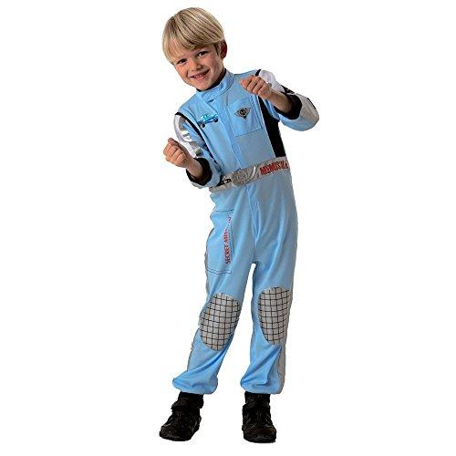Disney Cars - Kinder Kostüm Fasching Karneval Finn McMissile Gr. 110-134, Größe:L