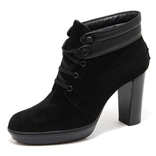 78364 tronchetto polacchino TOD'S nero POLACCO scarpa donna shoes women Nero