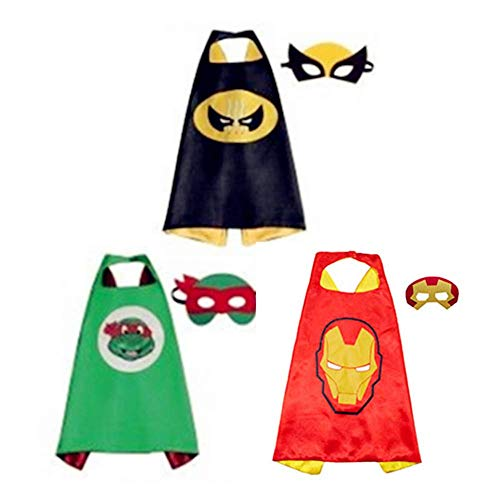 Costumi per Bambini,Kids Dressing Up Cloaks Boys And Girls Toys per il Compleanno e Bambini Costumes Party