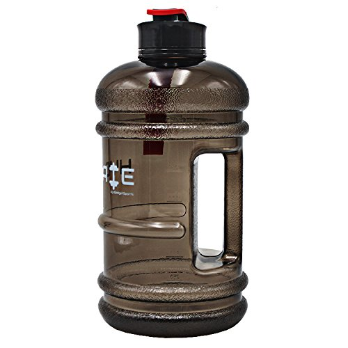 41h3d2yImyL. SS500  - HYDRATE 2.2 Litre Water Bottle - Now With Easy Drink Cap - Durable & Extra Strong - BPA Free - Ideal for: Gym, Dieting, Bodybuilding, Outdoor Sports, Hiking & Office