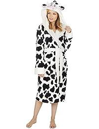 fb7c05249b KATE MORGAN Ladies Soft   Cosy Hooded Dressing Gown