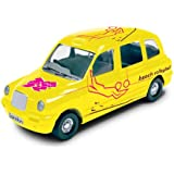 Corgi TY66123 London 2012 Destination London 2012 Taxi #21 Beach Volleyball 1:64 Scale Collectable Series Die Cast Vehicle