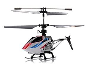 Syma Toys Hélicoptère SYMA S800G 4 canaux infrarouges avec Gyro (Blanc)