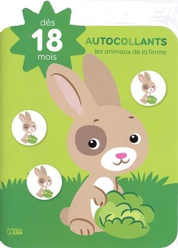 Autocollants petite étoile: Les animaux de la ferme - Dès 18 mois par Marie-Hélène Grégoire