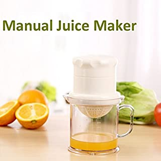 ADAALEN Manual Homemade Juice Maker Mini DIY Orange Lemon Fruit Juicer Kitchen Tool