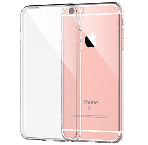 iPhone 6/6S case, SK micro š Apple iPhone 6/6S custodia flessibile 4.7//morbido in silicone/gel/ultra sottile/ammortizzamento/antigraffio/trasparente/metallo Galvanotecnica Technology/Dr