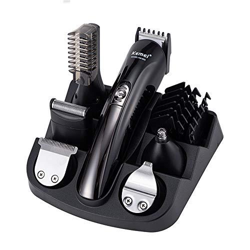 Amilty Elektrischer Haarschneider - elektrischer Rasierapparat - männlicher Bartschneider, Nasenmesser, geeignet für den Herrenschnitt