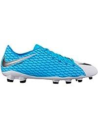 Nike - Hypervenom Phelon III FG - 852556104 - El Color Blanco - Talla: 42.0