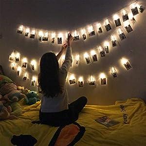 Foto Clip cadena de luces