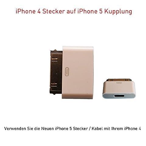 iPhone 5 / Iphone 6 Adapter 8-pol auf iPhone 4
