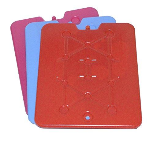 Kühlakku extra flach und Gross Kühlelemente von all-around24 für die Kühltasche oder Kühlbox (1St. x 33x25x1cm)
