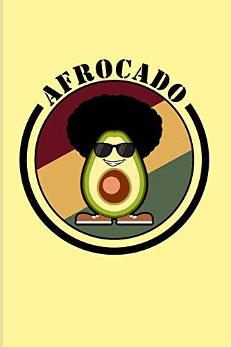 Afrocado: Funny Vegetables Puns 2020 Planner | Weekly & Monthly Pocket Calendar | 6x9 Softcover Organizer | For Afro Hair & Vegan Cooking Fans