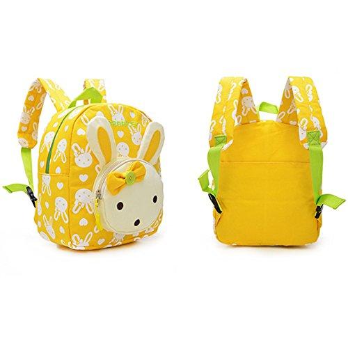Imagen de  infantil / pequeña bebes guarderia bolsa lindo conejo animales bambino  para pequeño niñas amarillo alternativa