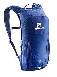 Salomon Unisex Trail 10 Rucksack, Surf The Webwhite