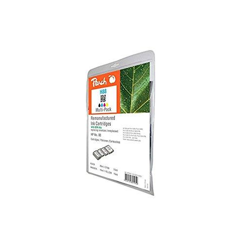 Preisvergleich Produktbild Peach Spar Pack Tintenpatronen kompatibel zu HP No. 88