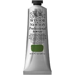 Winsor & Newton Professional - Pintura acrílica, tubo 60 ml, color verde savia permanente