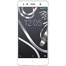"""BQ Aquaris X5 - Smartphone de 5"""" (Dual SIM, Bluetooth 4.1, Octa Core 1.4 GHz, 32 GB de memoria interna, 2 GB de RAM, cámara de 13 MP, Android 6.0.1 Marshmallow) plata - recondicionado oficial"""
