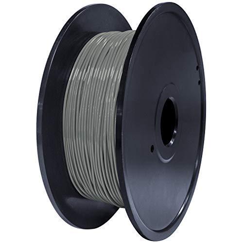 GEEETECH TPU Filamento flessibile 1.75mm grigio, Filamento stampante 3D 400g 1 bobina