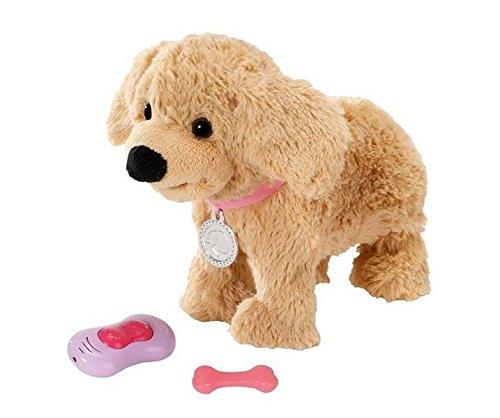 Zapf 4001167819524 Andy, mehrfarbig (Baby Puppe Hund Spielzeug)