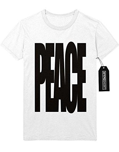 T-Shirt PEACE F959404 Weiß