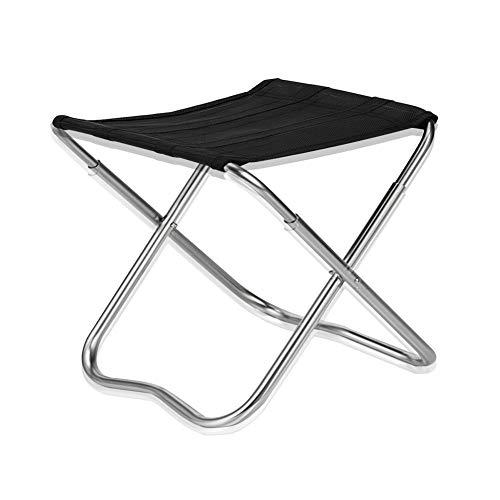 DaoRier Klapphocker Camping Hocker Ultraleicht Tragbar Klappbar Sitzhocker Angelhocker für Garten Camping Angeln