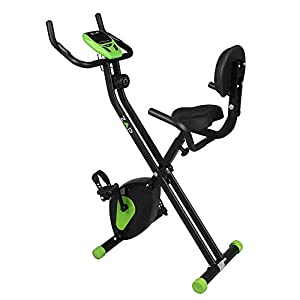 ZAAP Fitness Folding X-Bike Recumbent Upright Exercise Bike from ZAAP
