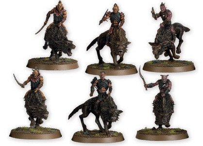 The Hobbit- Hunter Orcs On Fell Wargs