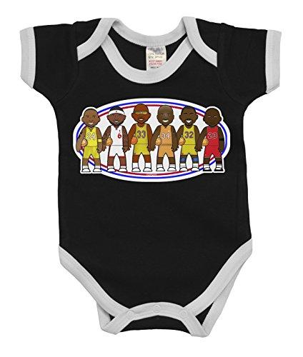 VIPwees Baby Kleidung Babygrow Basketball Legends Boys & Girls Baby Bodysuit