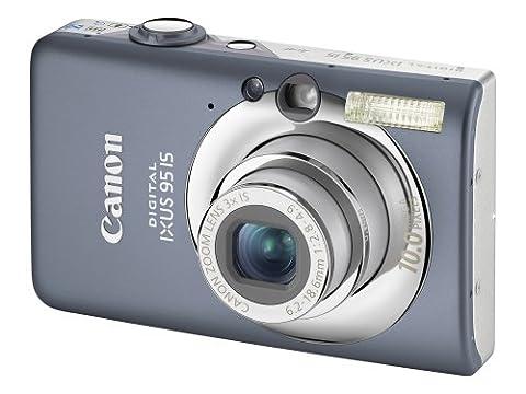 Canon Digital IXUS 95 IS Digital Camera - Grey (10