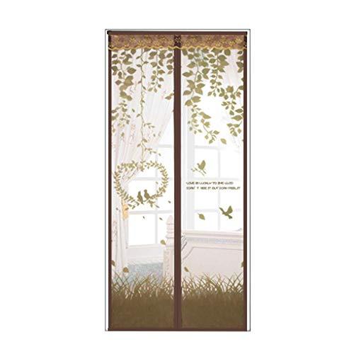 Preisvergleich Produktbild Minzhi Anti-Moskito-Insekt-Fliegen-Wanzen-Magnetic Tulle Startseite Türvorhang Vögel Schließautomatik Tür-Schirm