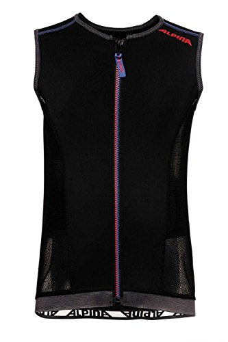 ALPINA Kinder JSP 3.0 Junior Vest Protektor, Black-Blue, 152/158