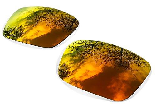 sunglasses restorer Kompatibel Ersatzgläser für Oakley Sliver, Polarisiert Fire Iridium