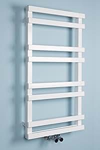 Sundsvall Scaldasalviette Moderno Design 900 x 500 - Bianco