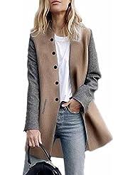 Reaso Femmes Manteau Hiver Elegant Cardigan Automne Blousoon Parka Casual Hoodie Sweatshirt Manche longue Veste Dame Manteaux Tricots Pull Sweater Outwear