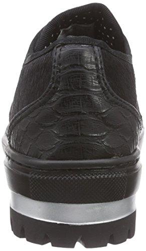Fornarina PIFXR8911WJA Shera Sneaker, Donna Black 00