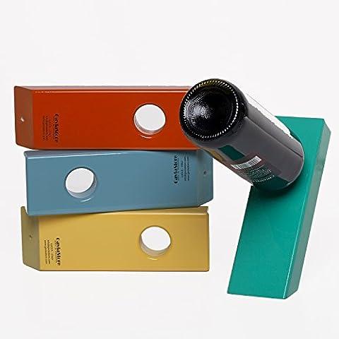 """Le Original Italienne """"ENJOY"""" Porte-bouteille Porte-bouteilles de Vin Maison Déco Home Decor Design Idée Cadeau (Vert)"""