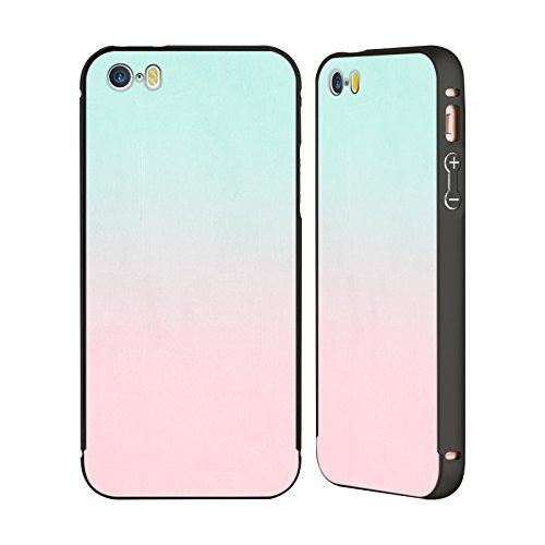 Ufficiale Charlotte Winter Sogno Ombre Nero Cover Contorno con Bumper in Alluminio per Apple iPhone 5 / 5s / SE Sogno