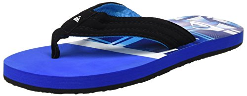 Quiksilver Basis, Tongs Homme Multicolore (BLUE/BLUE/BLACK)