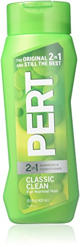 Pert ~ Classic Clean ~Happy Medium 2 in 1 Hair Shampoo Conditioner 13.5 Oz (Pack of 2) by Pert (Happy Medium 2in 1 Shampoo)