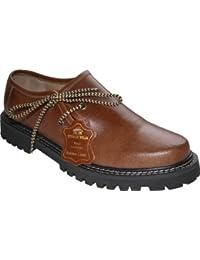 Haferlschuhe Trachtenschuhe Pullup-Glattleder Pull-Up-Leder Schuhe Kastanienbraun