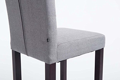Clp sgabello alto bar burda in tessuto e legno sgabello cucina