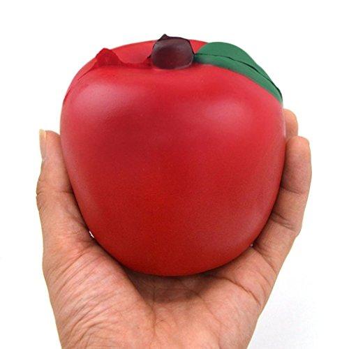 PINEsong Interessant Rot Apfelcreme Duft Langsam steigendes Spielzeug Handy Riemen - Schablonen Tinkerbell Halloween-kürbis