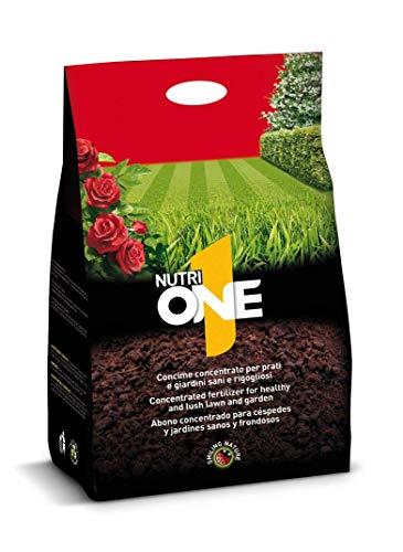 nutri 1 one one concime granulare per prati e giardini sani e rigogliosi, 4 kg