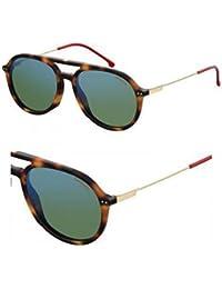 Carrera Eyewear Herren Sonnenbrille » CARRERA 8025/S«, schwarz, 003/W6 - schwarz/rot