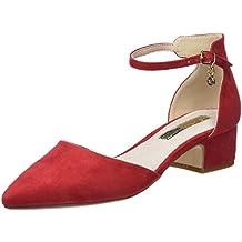 Femme Sous Les Chaussures Talon Moyen A Élégant Chaussures De Travail De Bureau De Salle De Taille - Daim Violet, 37