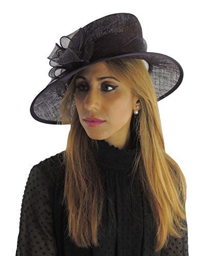 Glamour Girlz - Capeline - Femme taille unique Noir
